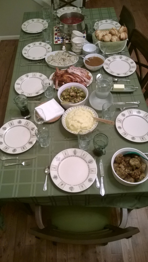 thanksgiving spread